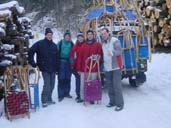 sledging group